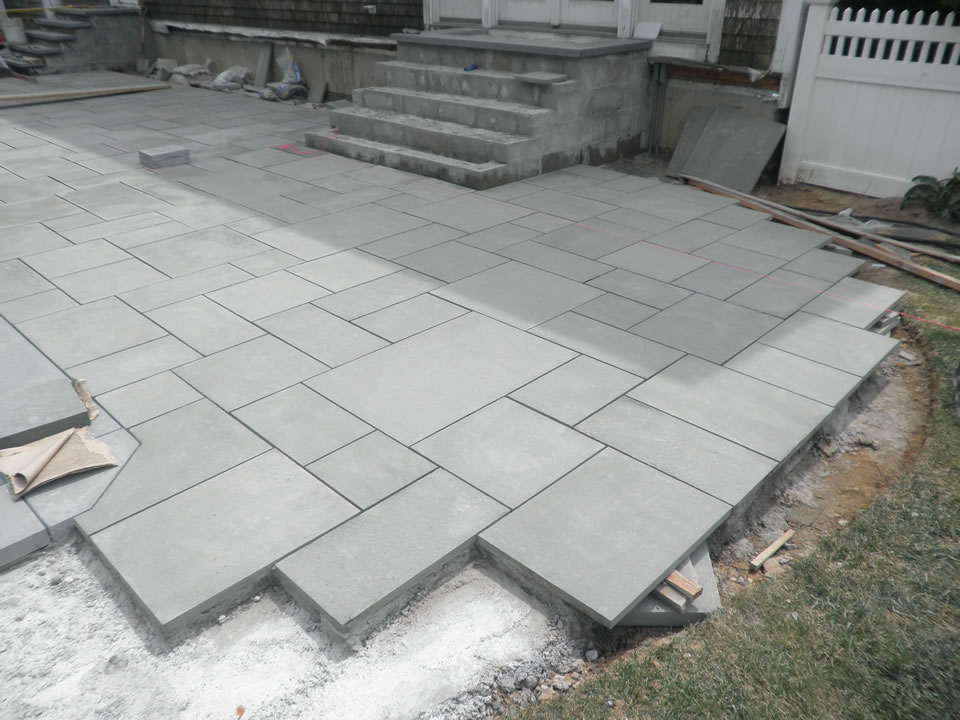 Blue Stone Patio